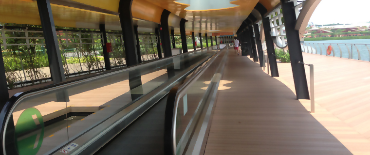 ممشى كهربائي inner sliders escalator1