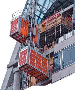 مصاعد انشاءات Construction hoist 250x300